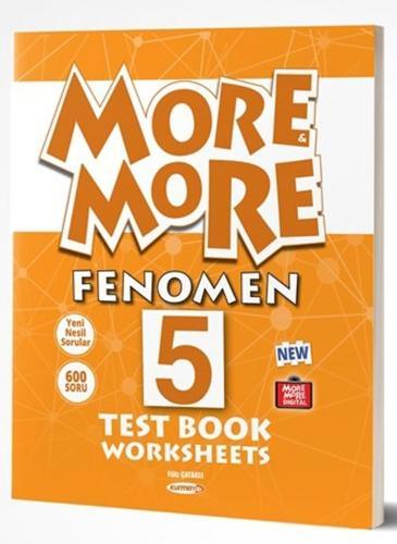 Kurmay ELT Yayınları 5. Sınıf More More Fenomen Test Book Worksheets