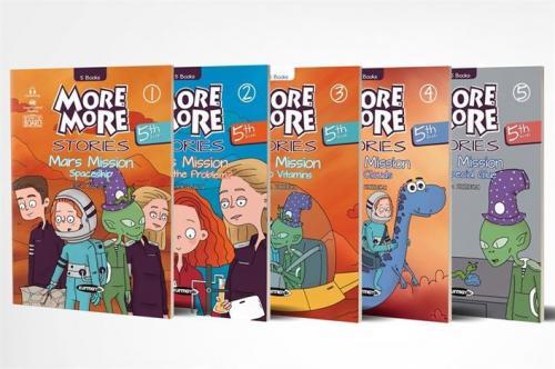 Kurmay ELT Yayınları 5. Sınıf More More Stories