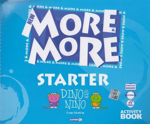 Kurmay ELT Yayınları New More More Dino And Nino Starter