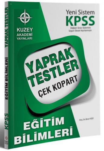 Kuzey Akademi KPSS Eğitim Bilimleri Çek Kopart Yaprak Test 2017