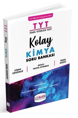 LEMMA Yayınları TYT Kolay Kimya Soru Bankası Özlem Ersoy Çelik