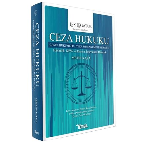 Lex Legatus Ceza Hukuku Genel Hükümler, Ceza Muhakemesi Hukuku Metin K