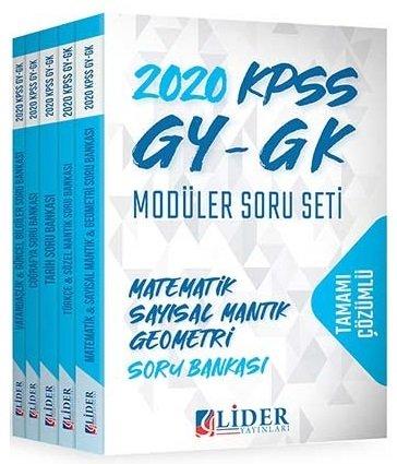 KELEPİR Lider 2020 KPSS Genel Yetenek Genel Kültür Soru Bankası Çözüml