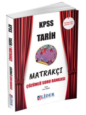 Lider KPSS Matrakçı Tarih Çözümlü Soru Bankası 2018
