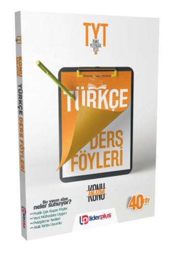 Liderplus TYT Türkçe Ders Föyü