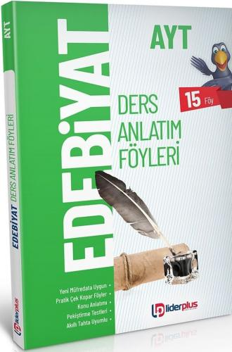 Lider Plus Yayınları AYT Edebiyat Ders Anlatım Föyleri