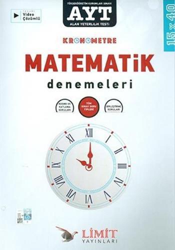 Limit Yayınları AYT Kronometre Matematik Denemeleri %40 indirimli Komi