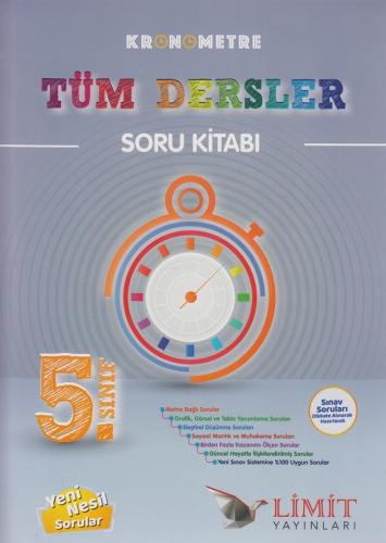 Limit Yayınları 5. Sınıf Tüm Dersler Kronometre Soru Kitabı %30 indiri