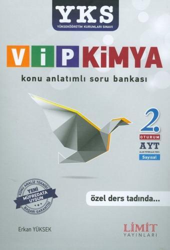 Limit YKS 2. Oturum AYT VİP Kimya Konu Anlatımlı Soru Bankası
