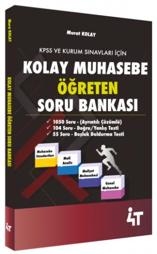 Kolay Muhasebe Öğreten Soru Bankası %25 indirimli Murat Kolay