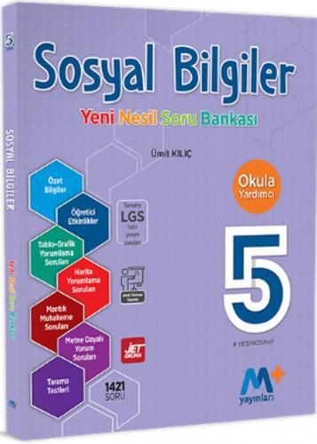 Martı Yayınları 5. Sınıf Sosyal Bilgiler Yeni Nesil Soru Bankası