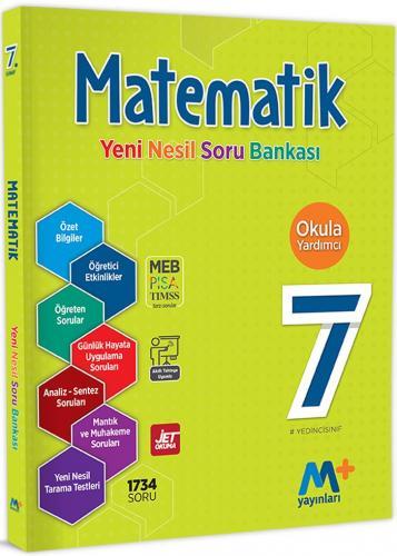 Martı Yayınları 7. Sınıf Matematik Yeni Nesil Soru Bankası