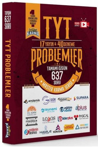 Master Karma TYT Problemler 17 Yayın 40 Deneme Komisyon