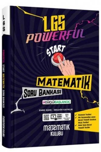 Matematik Kulübü 8.Sınıf LGS Powerful Start Matematik Soru Bankası K