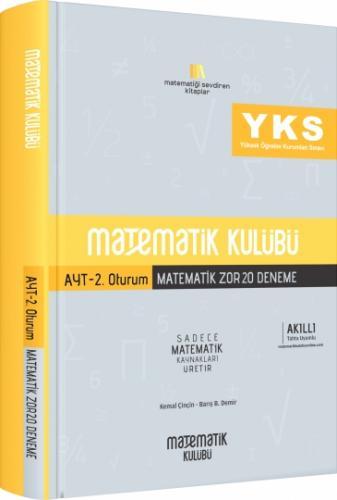 Matematik Kulübü AYT 2. Oturum Matematik Zor 20 Deneme %11 indirimli
