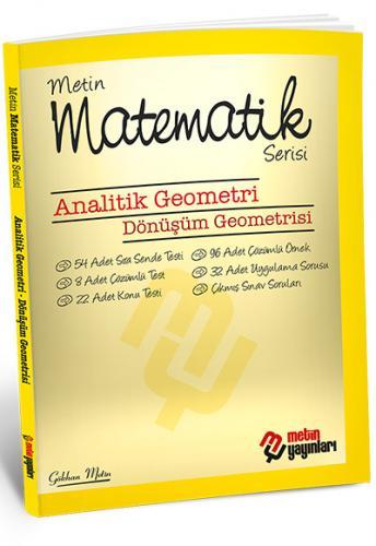 Metin Matematik Serisi Analitik Geometri Dönüşüm Geometrisi