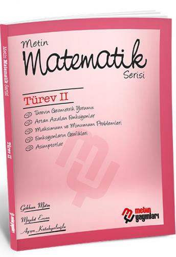 Metin Matematik Serisi Türev II