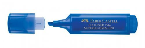 Faber-Castell Şeffaf Gövde Fosforlu Kalem Mavi