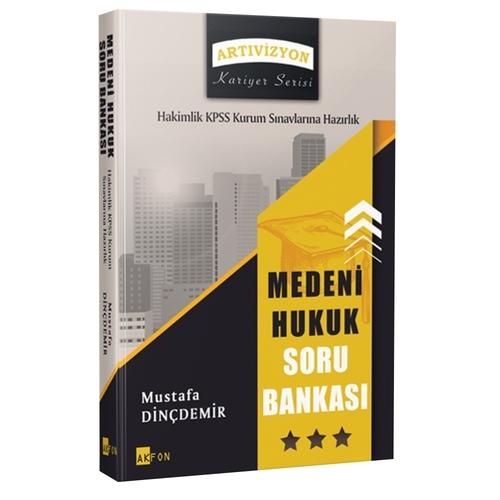 Medeni Hukuk Soru Bankası KPSS A Grubu ve Hakimlik Sınavları ve Kurum