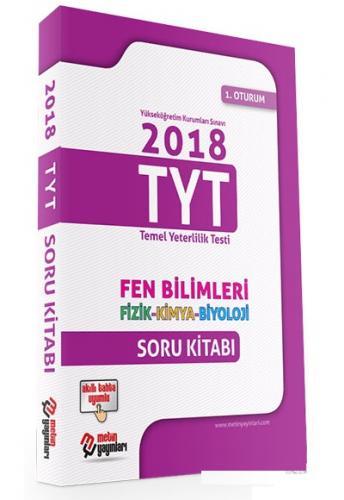 Metin YKS TYT 1. Oturum Fen Bilimleri Soru Kitabı