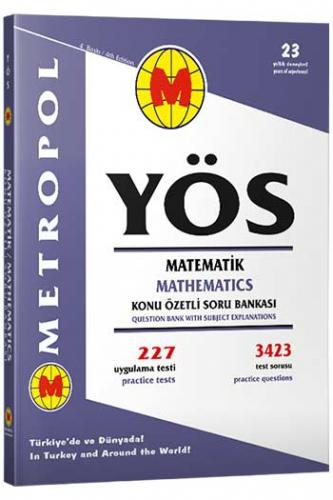 Metropol YÖS Matematik Konu Özetli Soru Bankası