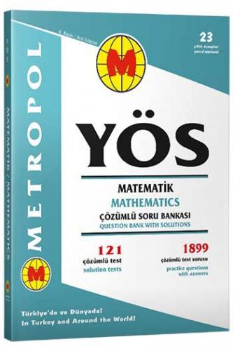 Metropol YÖS Matematik Çözümlü Soru Bankası