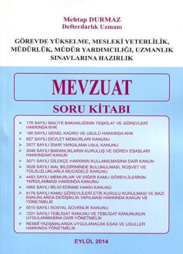 Mevzuat Soru Kitabı 2014 - Mehtap Durmaz