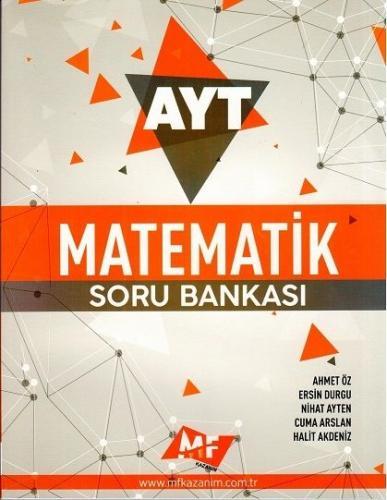 MF Kazanım Yayınları AYT Matematik Soru Bankası Ersin Durgu