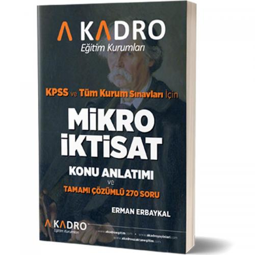 A Kadro KPSS A Grubu Mikro İktisat Konu Anlatımlı