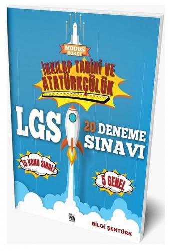 Modus Yayınları 8. Sınıf LGS İnkılap Tarihi ve Atatürkçülük Roket 20 Deneme