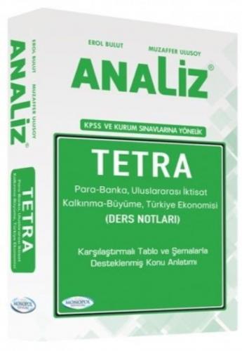 Monopol KPSS ve Tüm Sınavlara Yönelik Analiz Tetra Ders Notları