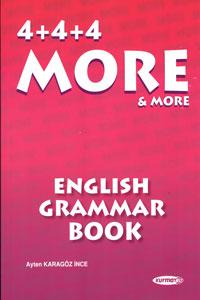 More & More English Grammar Book 4+4+4