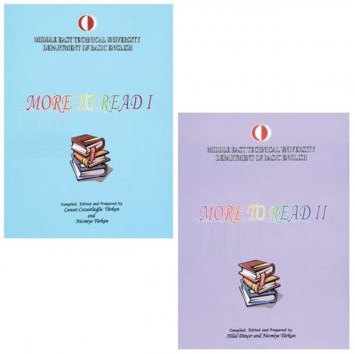 Odtü Yayıncılık More To Read 1-2 Set