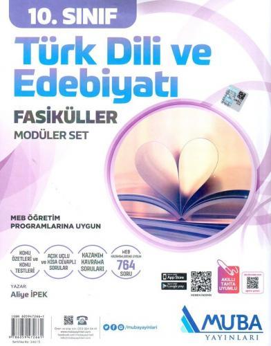 Muba 10. Sınıf Türk Dili ve Edebiyatı Modüler Fasikül Set