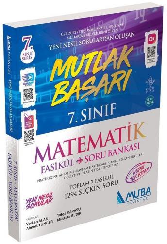 Muba Yayınları 7. Sınıf Matematik Mutlak Başarı Fasikül Soru Bankası A