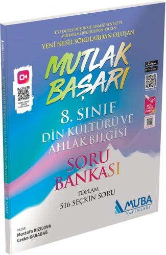 Muba Yayınları 8. Sınıf Din Kültürü ve Ahlak Bilgisi Mutlak Başarı Soru Bankası