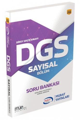 Murat Eğitim DGS Sayısal Bölüm Soru Bankası 2152