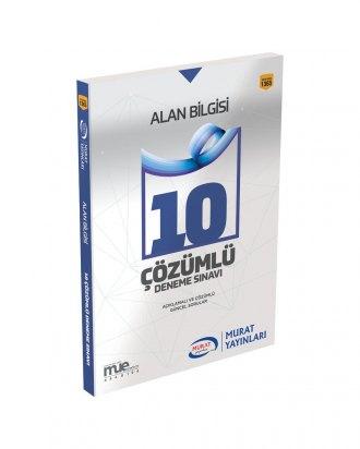 Murat Eğitim KPSS A Grubu Alan Bilgisi Çözümlü 10 Deneme Sınavı 1365