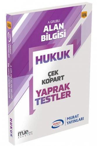 Murat Eğitim KPSS A Grubu Hukuk Çek Kopart Yaprak Testler 1370