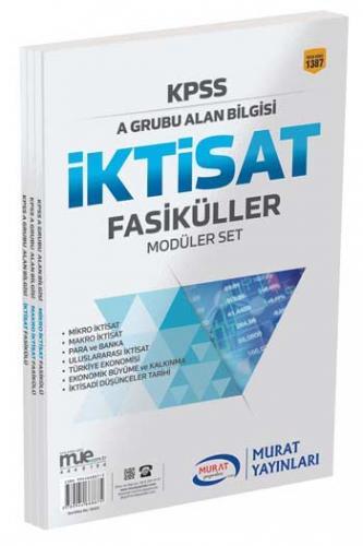 Murat Eğitim KPSS A Grubu İktisat Fasiküller Modüler Set 1387