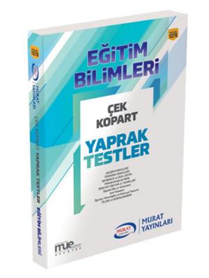 Murat Eğitim KPSS Eğitim Bilimleri Çek Kopart Yaprak Test 1270