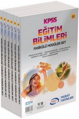 Murat Eğitim KPSS Eğitim Bilimleri Fasikülü Modüler Set 1271
