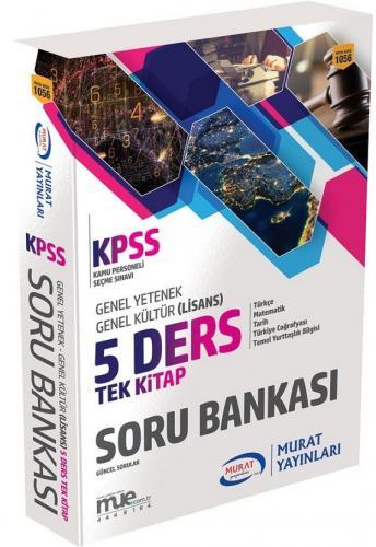 Murat Eğitim KPSS Genel Yetenek Genel Kültür 5 Ders Tek Kitap Soru Bankası 1056