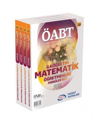 Murat Eğitim KPSS ÖABT İlköğretim Matematik Öğretmenliği Konu Anlatımlı Modüler Set 1225