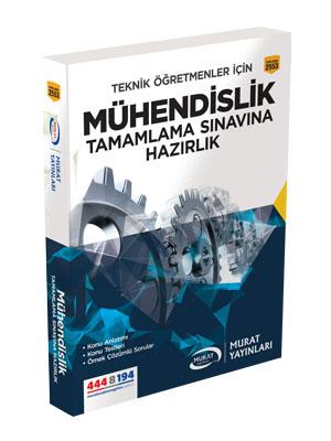 Murat Eğitim Mühendislik Tamamlama Sınavına Hazırlık 2553 %20 indiriml