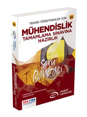 Murat Eğitim Mühendislik Tamamlama Sınavına Hazırlık Soru Bankası 2554