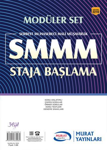 Murat Eğitim SMMM Staja Başlama Modüler Set 2210