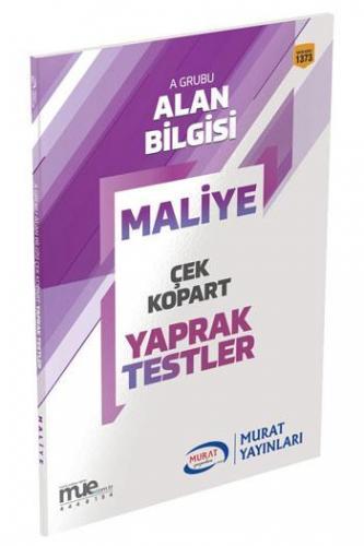 Murat KPSS A Grubu Maliye Çek Kopart Yaprak Testler 1373