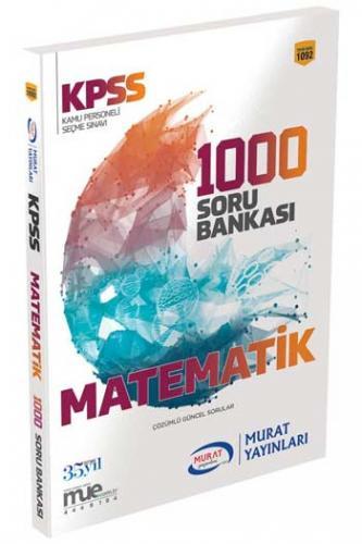 Murat Yayınları KPSS Matematik 1000 Soru Bankası
