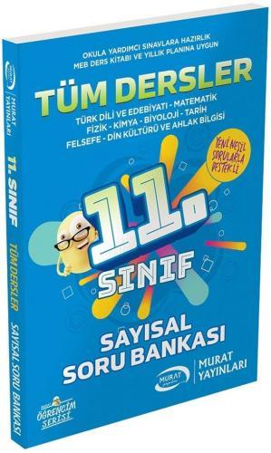 Murat Yayınları 11. Sınıf Sayısal Tüm Dersler Soru Bankası
